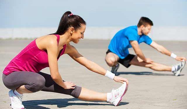 Vida mais saudável com dieta equilibrada e exercícios